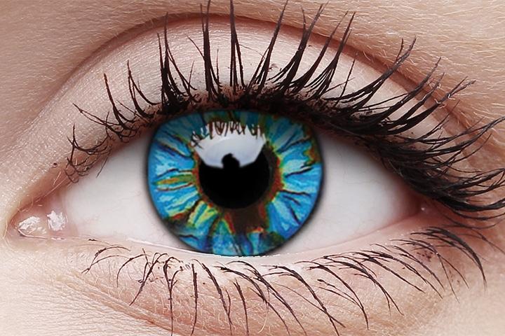 Blue Streak 14mm crazy lenses