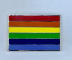 Rainbow belt buckle