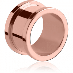 Rose Gold tunnel from Angel Body Jewellery