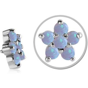 Opal flower dermal