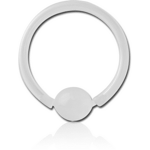 16Ga Bioplast Ball Closure Ring