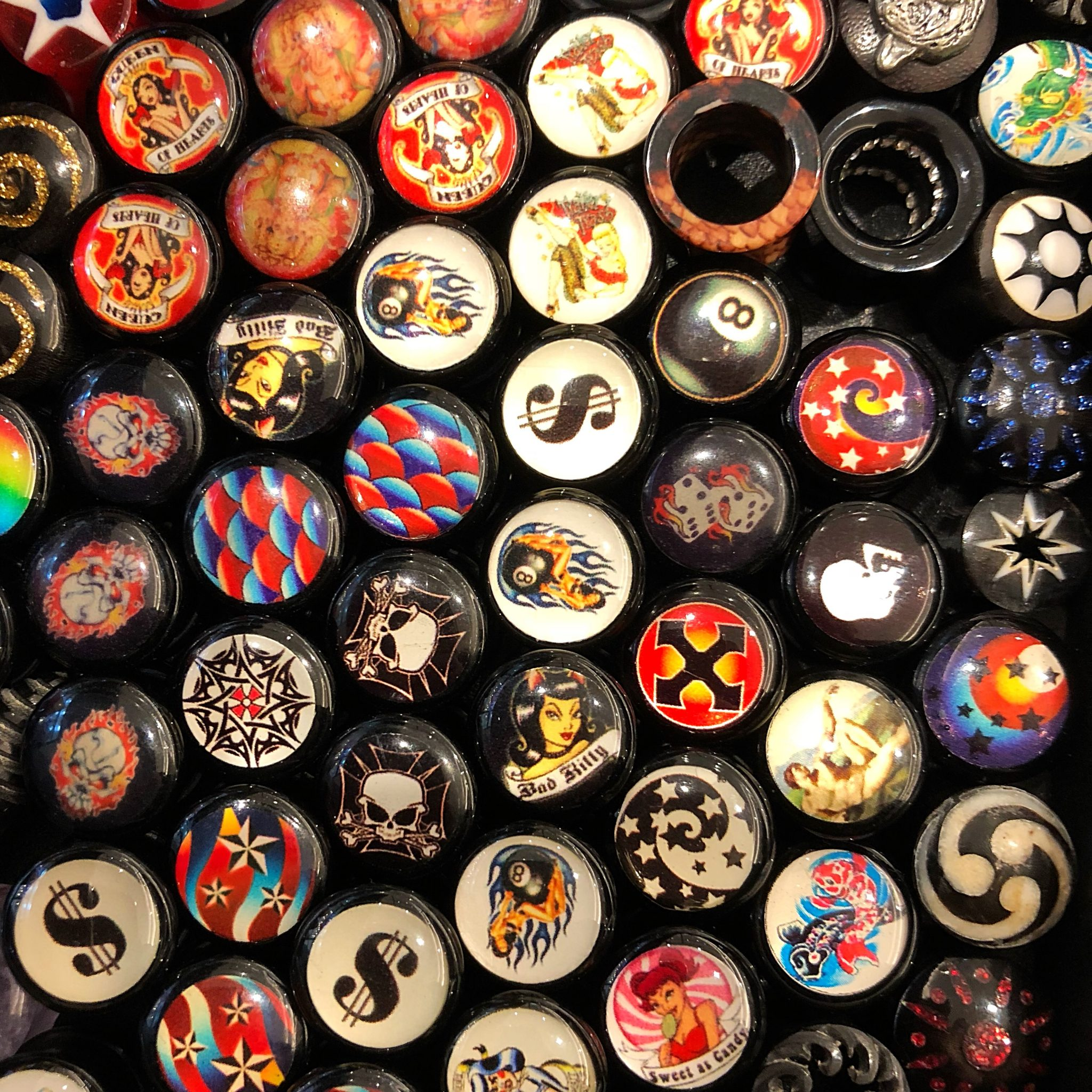 Lucky Dip – Odd Pairs of Plugs & Tunnels