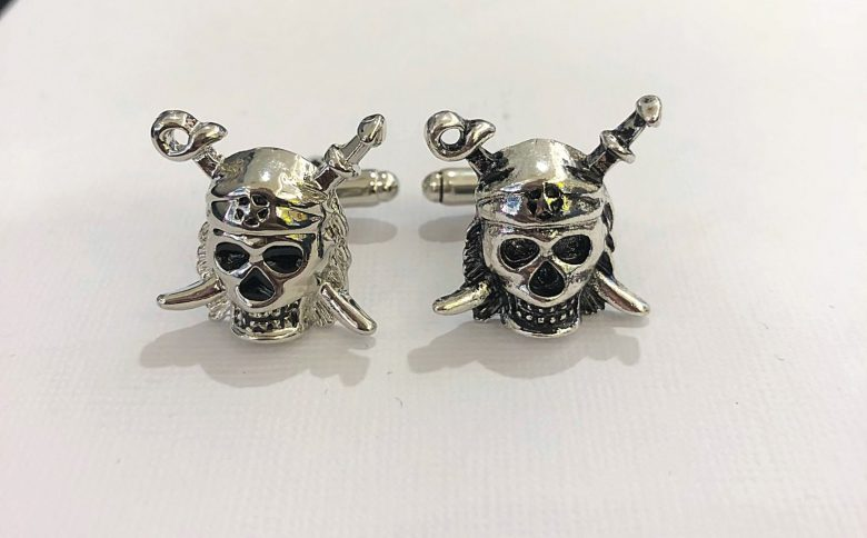 Pirates of the caribbean cufflinks