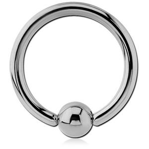 14ga Surgical Steel Ball Closure Ring