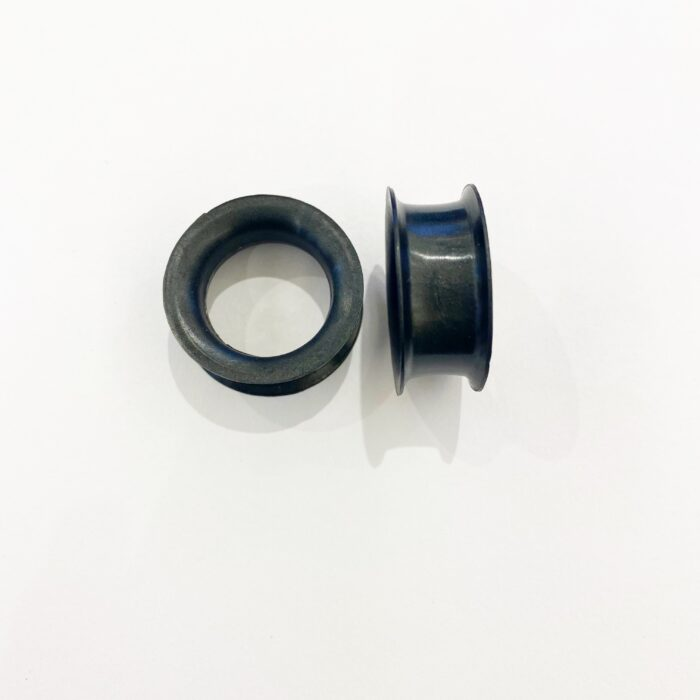 SALE – Black Silicone Tunnels – Pair