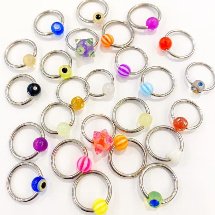 Ball Closure Ring – Lucky Dip