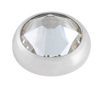 Qualiti 4mm Swarovski Crystal top – with Labret