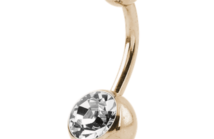 Zircon Gold Belly bar