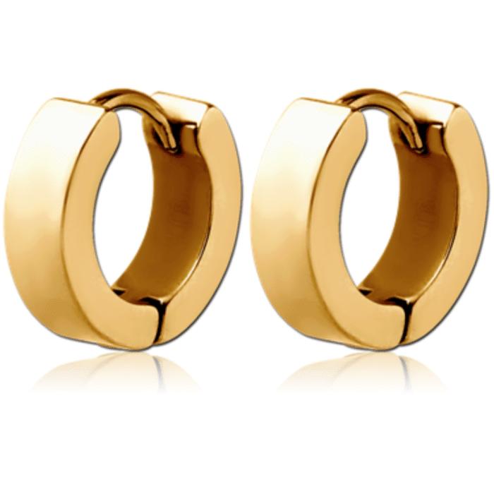 Gold Plated Steel Ear Huggies